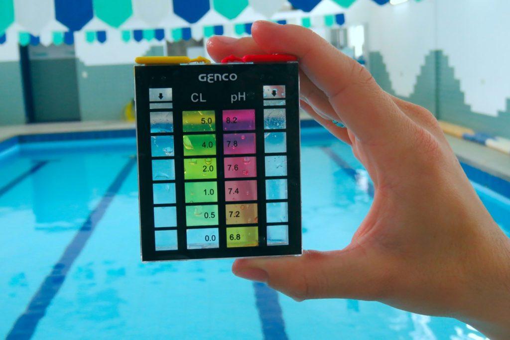Medidor de pH e cloro